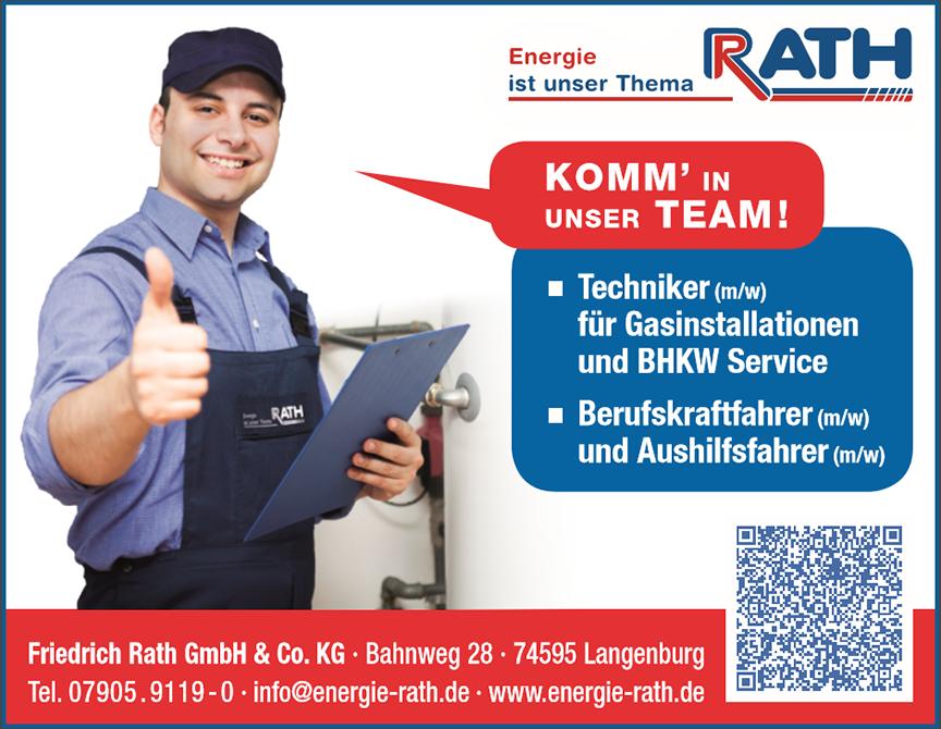 Energie Rath - Hohenlohe, Schwäbisch Hall, Crailsheim, Main Tauber, Heilbronn,